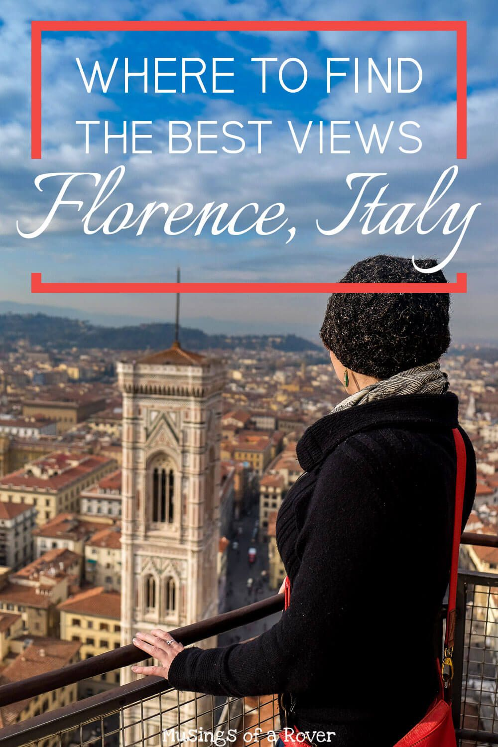 Looking for the best views in Florence, Italy? This list has you covered with details on climbing the dome, giotto's bell tower (campanile), piazzale michelangelo, and caffe la terrazza. florence travel tips, italy travel tips, italy things to do, florence things to do, italy guide, florence guide, italy travel advice, florence travel advice,