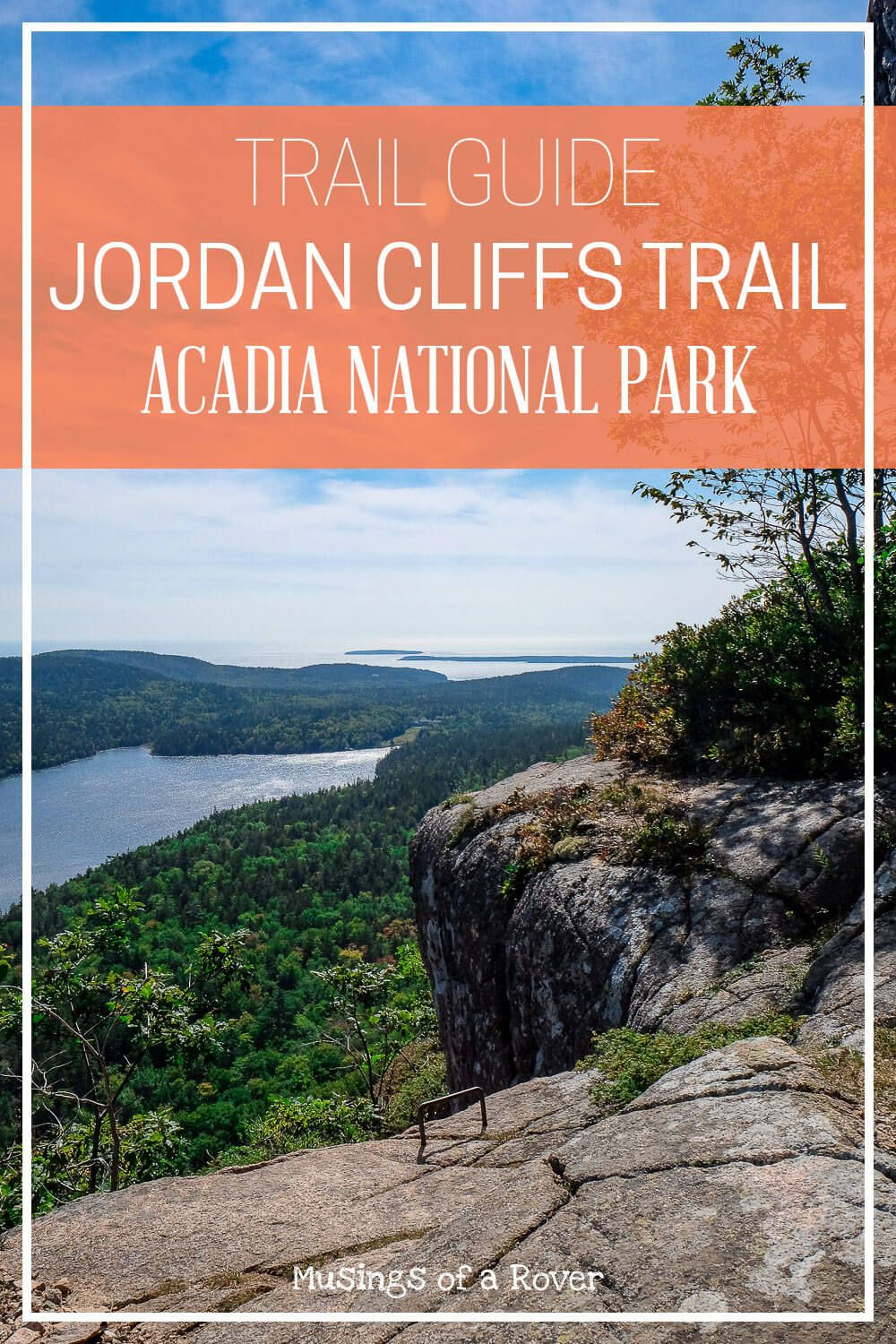 Interested in hiking the Jordan Cliffs Trail in Acadia National Park? Find out all you need to know to hike this challenging trail! bar harbor, acadia national park, things to do acadia national park, things to do bar harbor, maine, maine travel, maine things to do