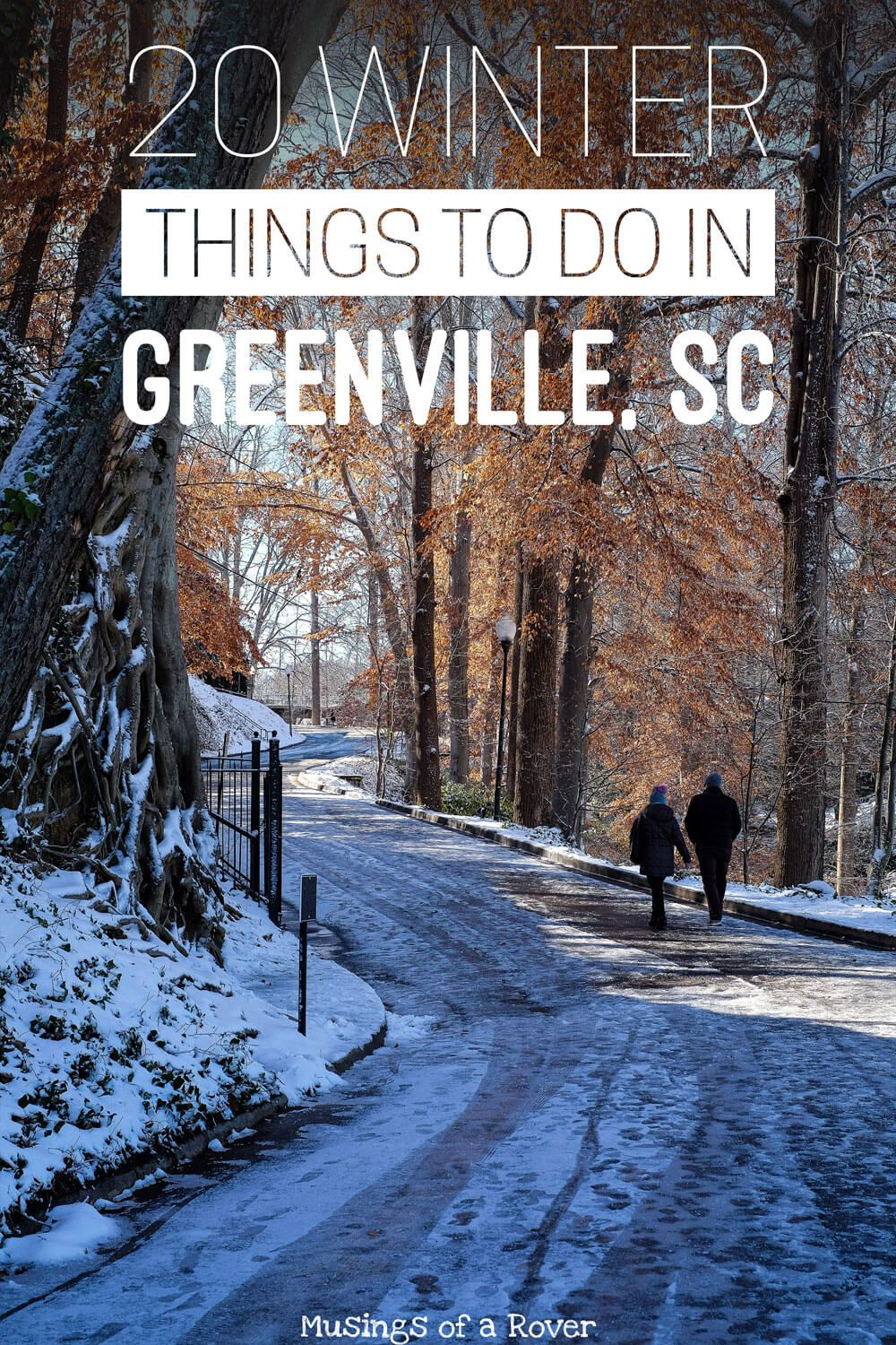 Traveling to Greenville, South Carolina this winter or Christmas? Or are you a local looking for something to do this weekend? Here are 20 things to keep you busy! Everything from holiday festivals, shopping, holiday lights, and hockey to everyday activities like hiking Table Rock, cutting down your christmas tree, brewery hopping, visiting the biltmore, and more. travel tips, travel advice, greenville sc things to do, greenville south carolina things to do