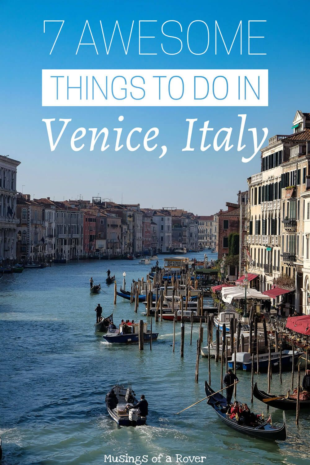 Heading to Venice, Italy? Check out this list for things to do! Including climbing the campanile for sunset, seeing San Marco Square, exploring the Doge Palace, riding in a vaporetto, eating cicchetti, and more. italy, venice, italy travel, venice travel, italy things to do, venice things to do