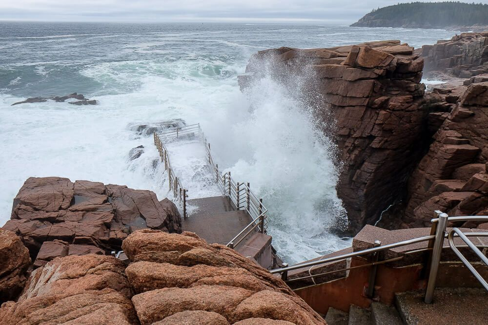 Thunder Hole - Bar Harbor in September