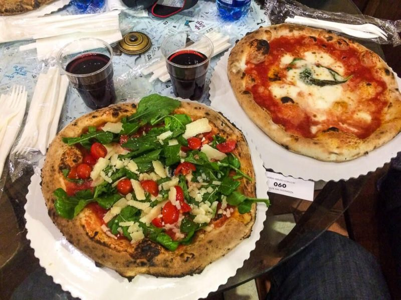 Pizza in Florence, Italy - How much does a trip to italy cost?
