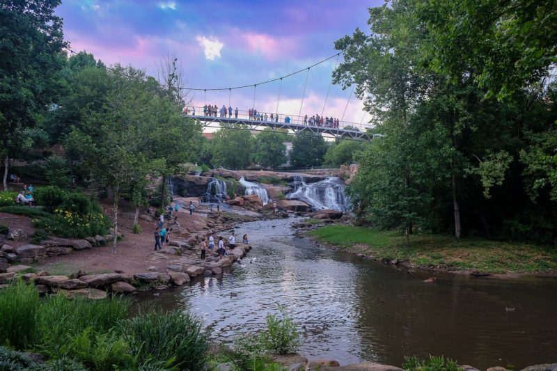 What To Do in Greenville SC: A Local's Guide to Greenville SC - Falls Park