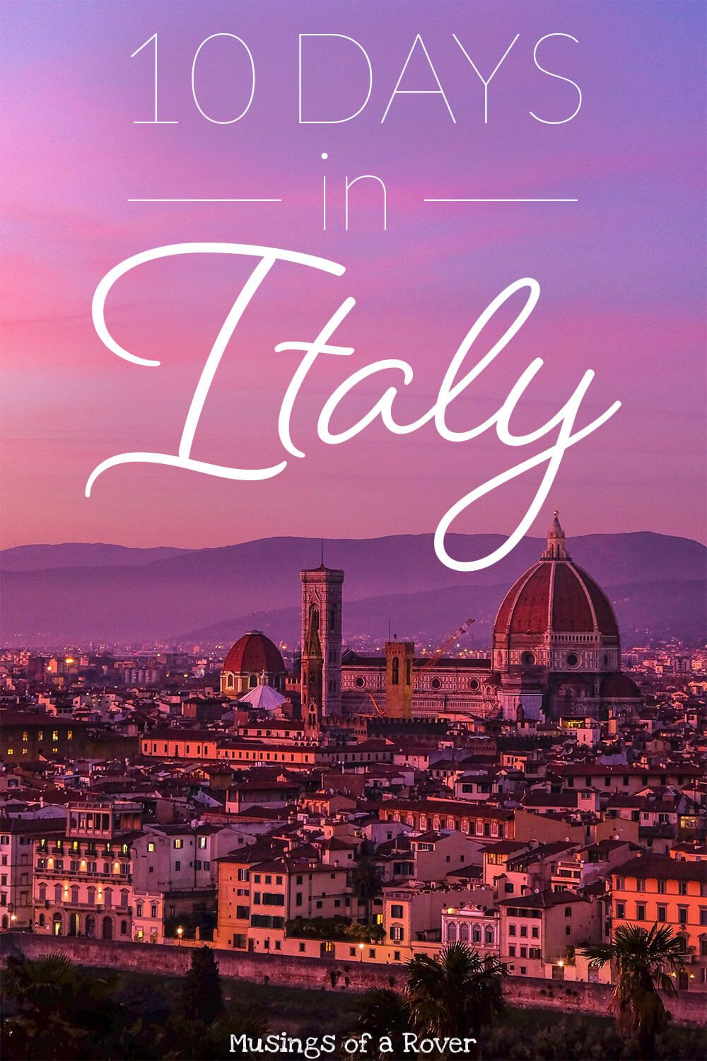 Traveling to Italy? This itinerary features 10 Days in Italy including Venice, Florence, Milan, and a day trip to Pisa. This guide has you covered on what to do, where to stay, where to eat, and how to get around. It has everything you need for your 10 day trip to Italy. italy travel tips, florence travel tips, venice travel tips, italy travel guide,