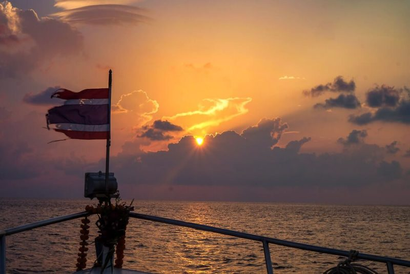 Southeast Asia Cost: Liveaboard in Thailand