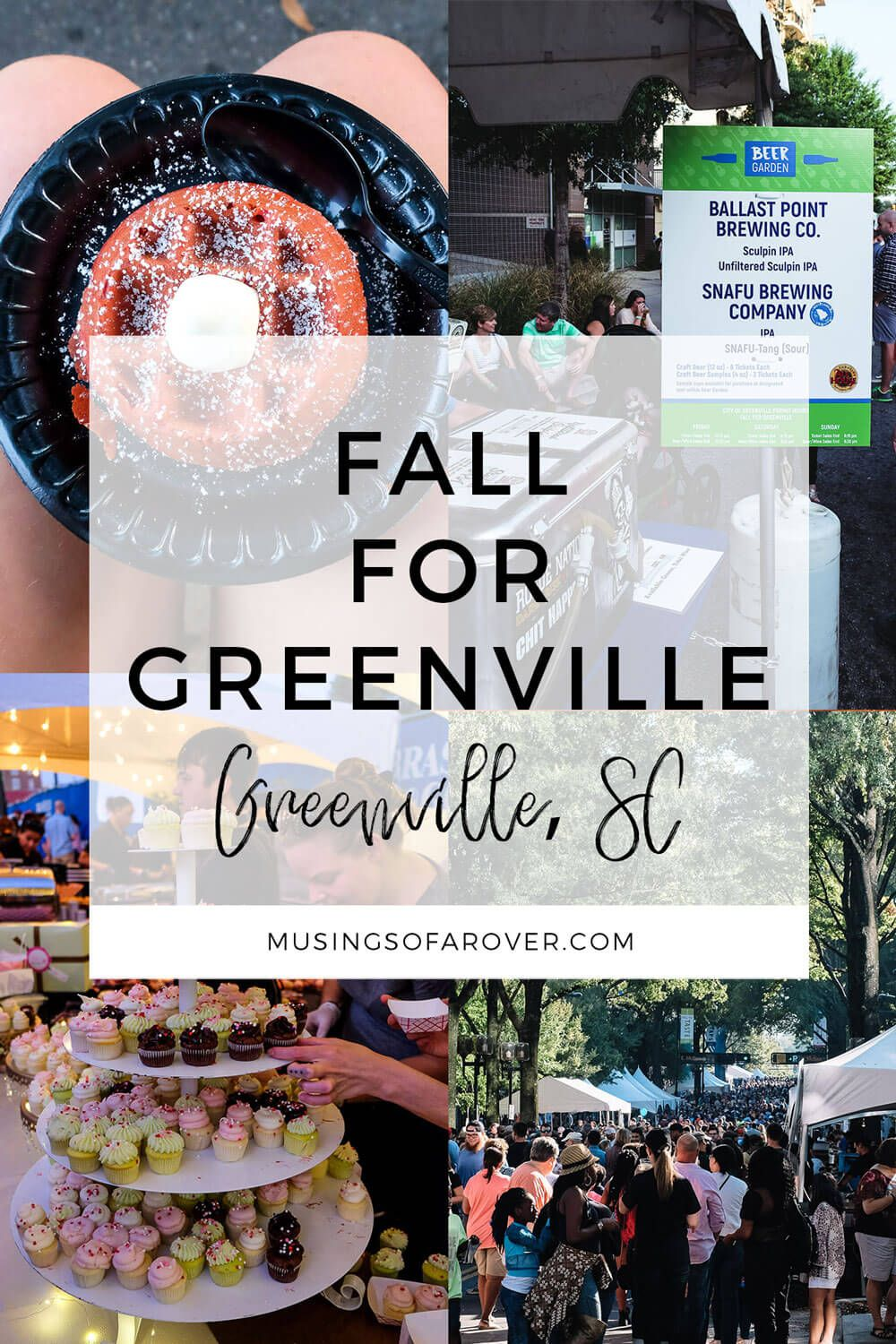 Have you been to Fall for Greenville before in Greenville, SC? Or need a refresher on what to expect? Find out everything you need to know to make the most of this weekend fall festival in October. It's one of my favorite things to do in Greenville SC and you don't want to miss it.