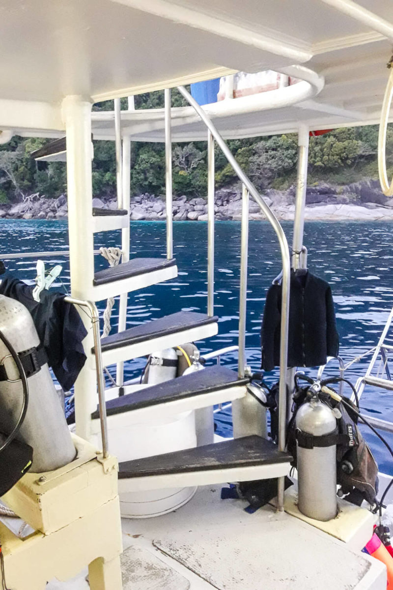 Similan Islands Diving: Sea Dragon Liveaboard