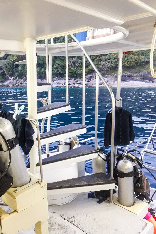 Similan Islands Diving: Sea Dragon Liveaboard