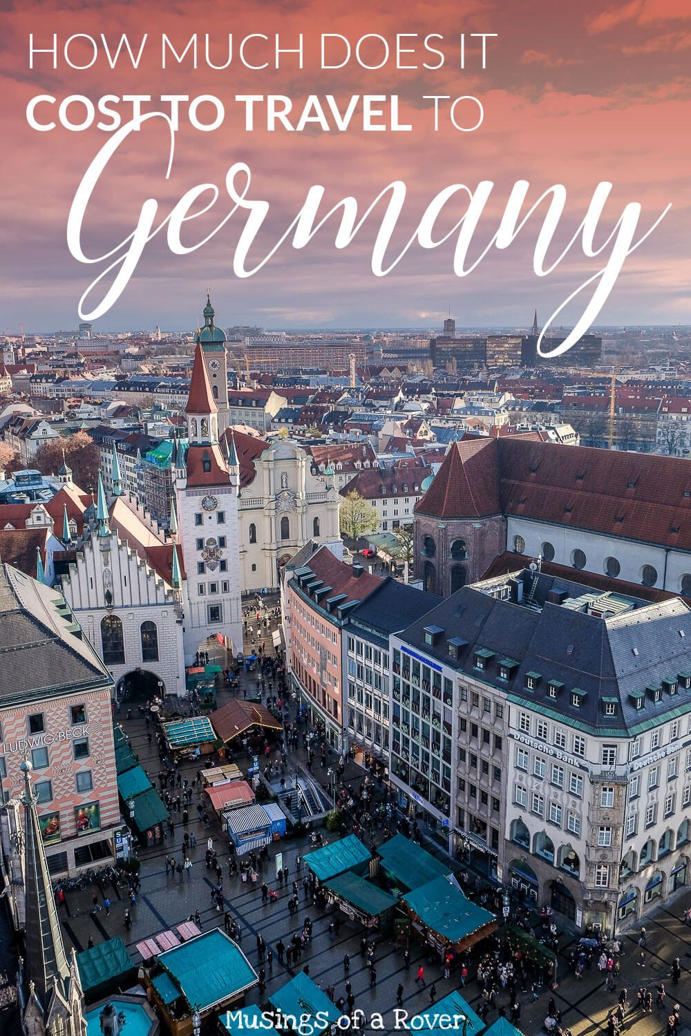 Are you headed to Germany in December to visit the Christmas Markets? This is a wonderful and magical time of year and it's definitely one of the best ways to experience Christmas. But how much does it cost to go to Germany? How much money should you budget? I recorded all of my expenses from my 10 day trip to Germany and put them here for you to see!