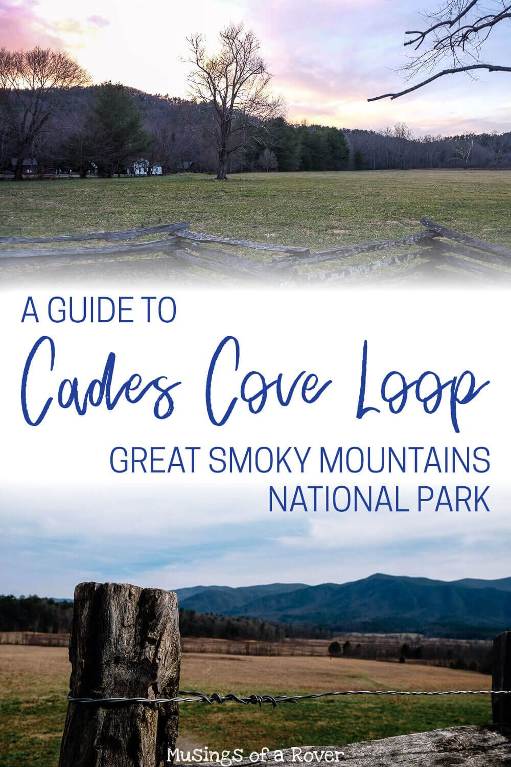 Headed to Great Smoky Mountains National Park? This popular loop road is one of the best things to do in the park! Though be warned that it can sometimes be crowded. Find out what you need to know before you head out to Cades Cove to beat the crowds and hit the must-see spots along the way.