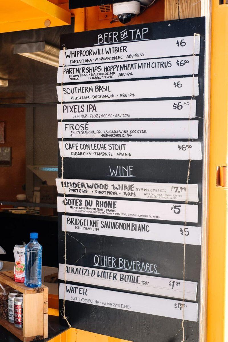 Swamp Rabbit Cafe: craft beer in greenville sc