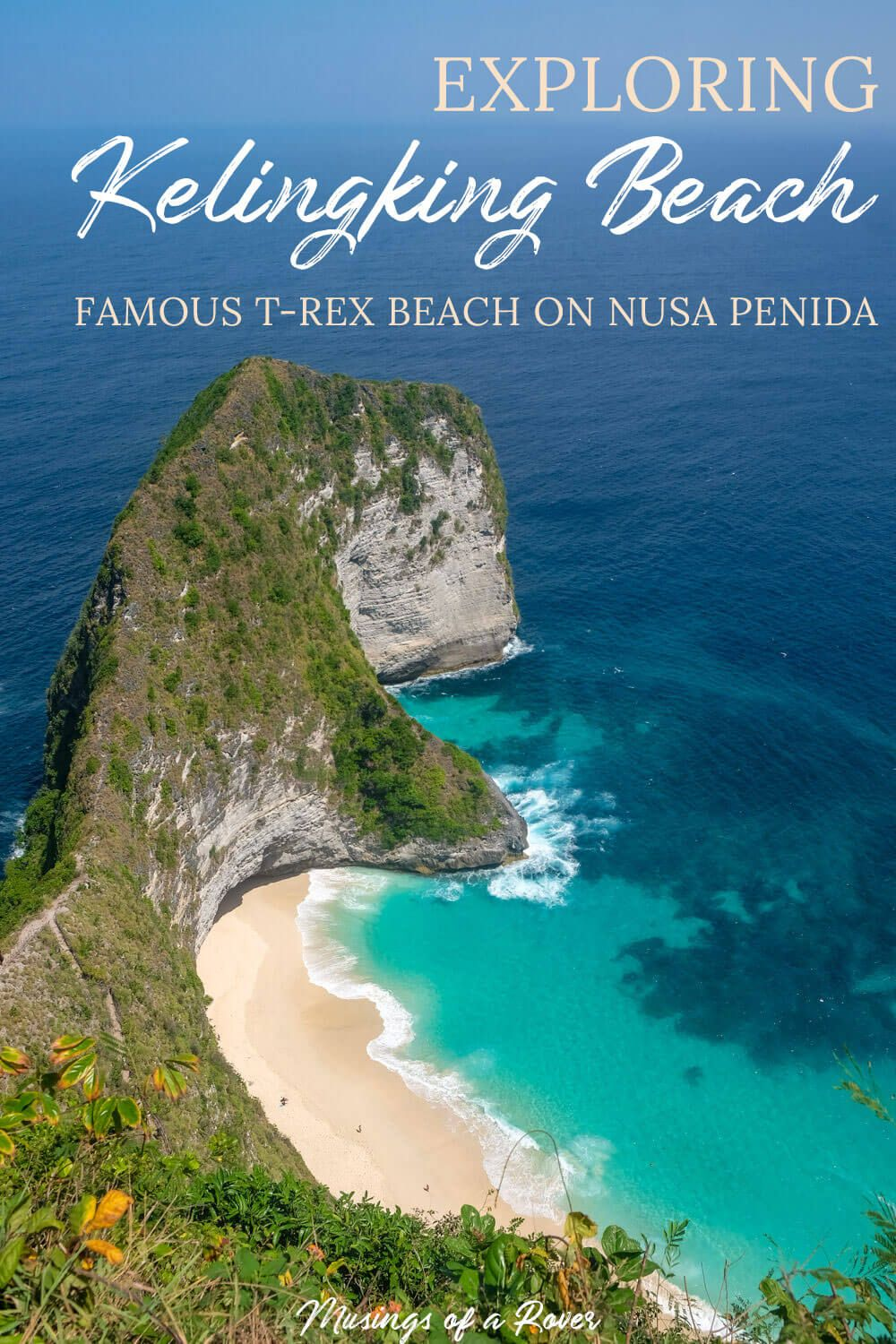 Headed to Nusa Penida near Bali to see the famous Kelingking Beach (aka T-Rex Beach)? Find out everything about the hike down to the beach here. Also includes how to get to the beach and where to stay nearby.