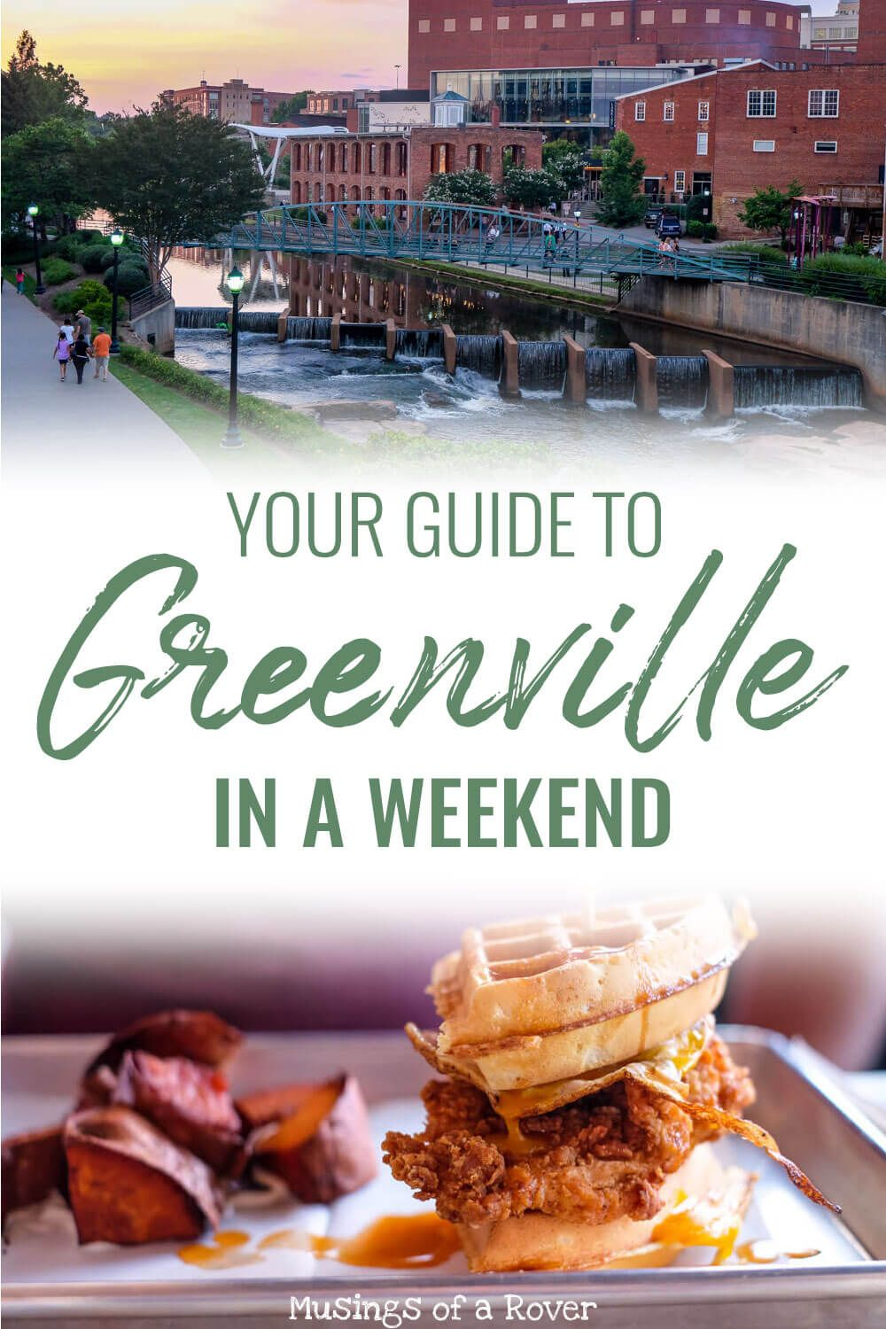 This local's guide to Greenville, SC will give you tips on what to do, where to eat, and what to drink during your weekend trip to this amazing city.