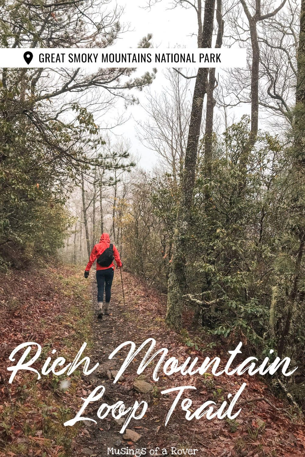 Headed to Cades Cove in the Great Smoky Mountains National Park? The Rich Mountain Loop day hike gives you a chance to escape the crowds. It's got viewpoints, stream crossings, wildflowers, and even a waterfall. And thought it's quite a tough hike, I think it's worth it!