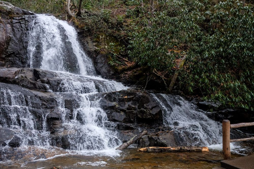 Hike the Laurel Falls Trail in the Smoky Mountains