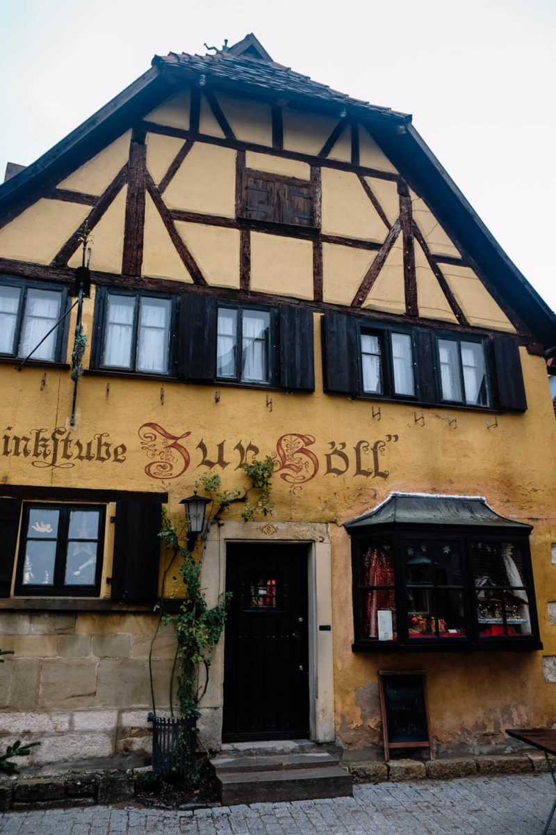 Where to eat in Rothenburg, Germany