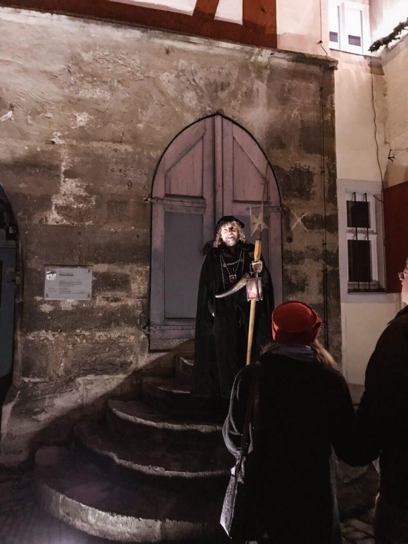 Rothenburg, Germany in December