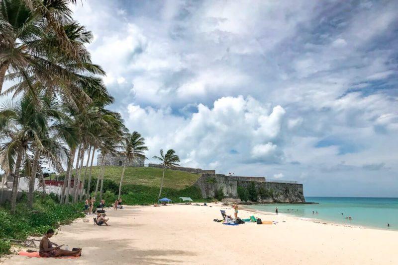 Fort St. Catherine Beach, Bermuda