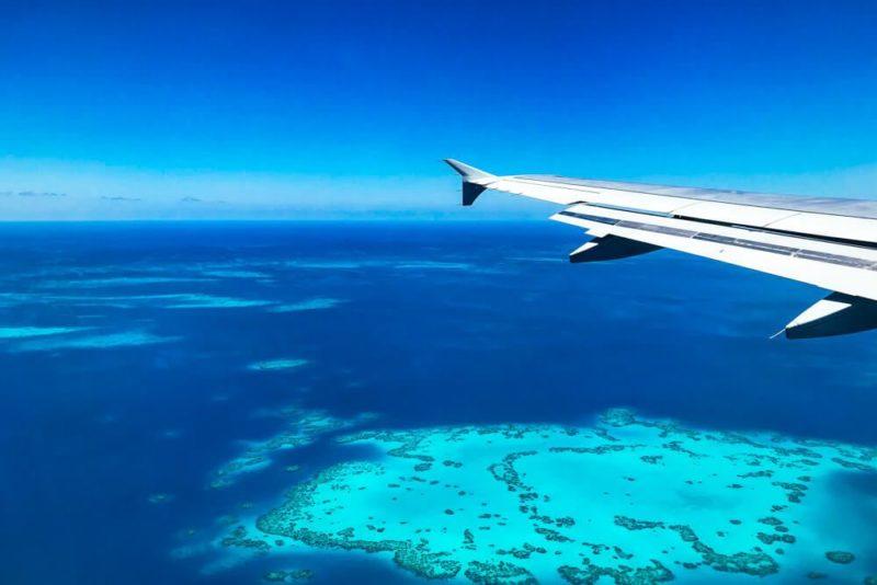 Flying into Bermuda