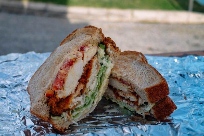 Seaside Grill Sandwich, Bermuda