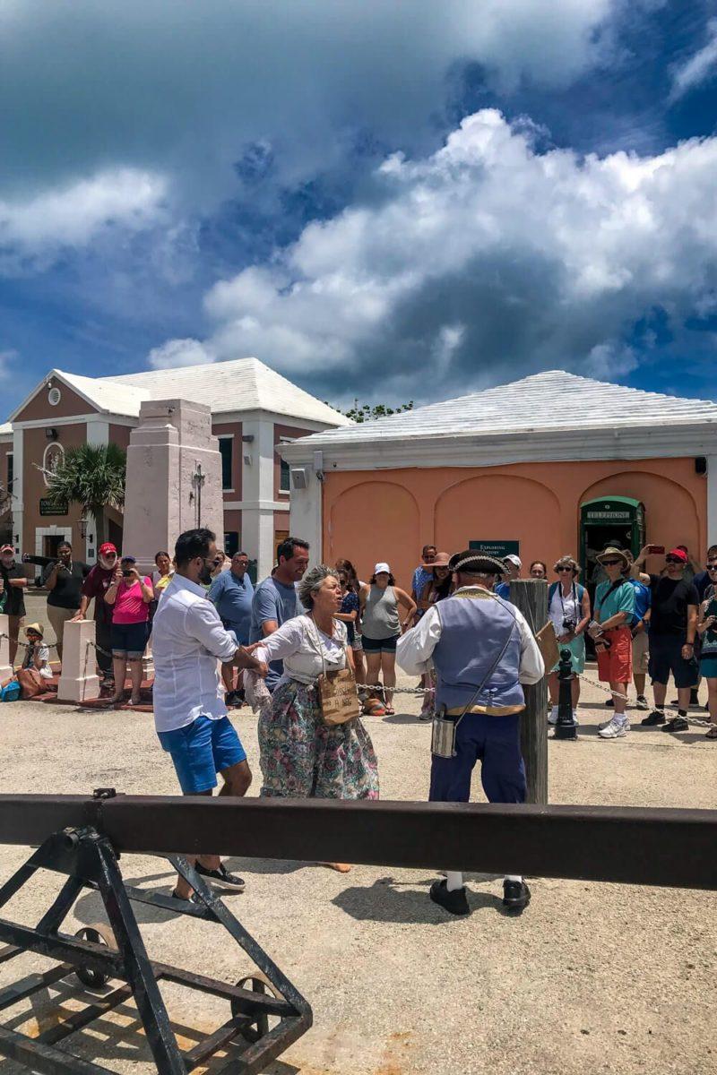 Ducking Stool Reenactment, St. George's, Bermuda