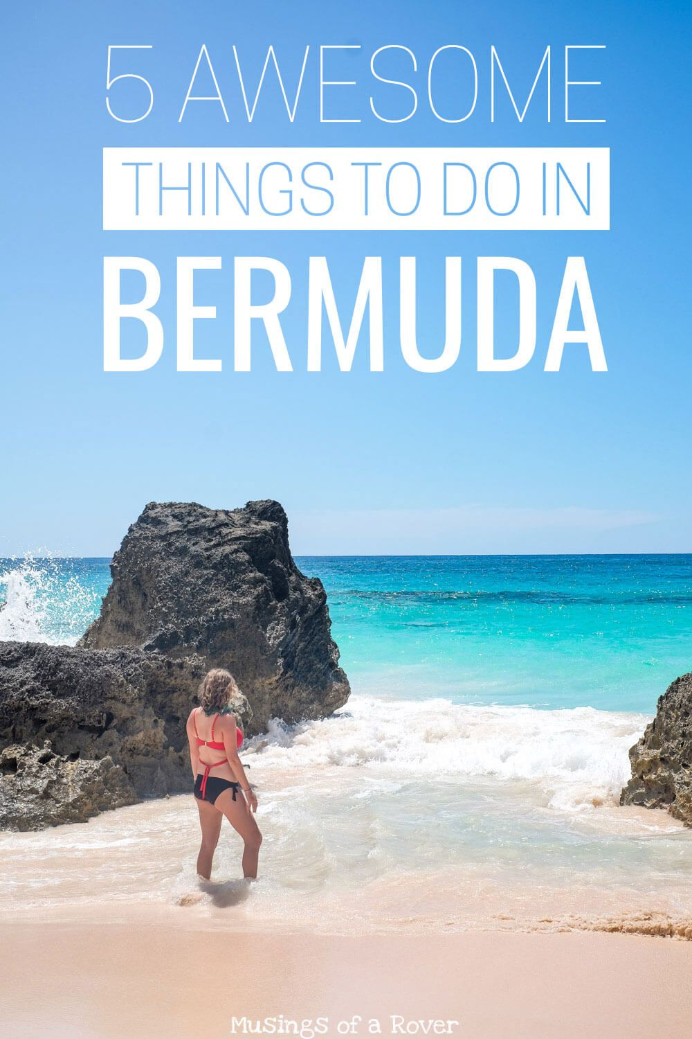There are a number of things to do in Bermuda. Here are the top 5 must-dos you shouldn't miss including pink beaches, renting a scooter or an electric car, going scuba diving or snorkeling at Church Bay or Tobacco Bay, visiting Gills Hill Lighthouse or Fort St. Catherine, and a day trip to St. George!