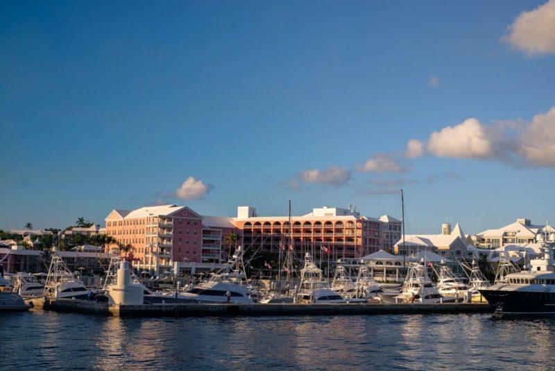 Hamilton Princess: Bermuda Itinerary