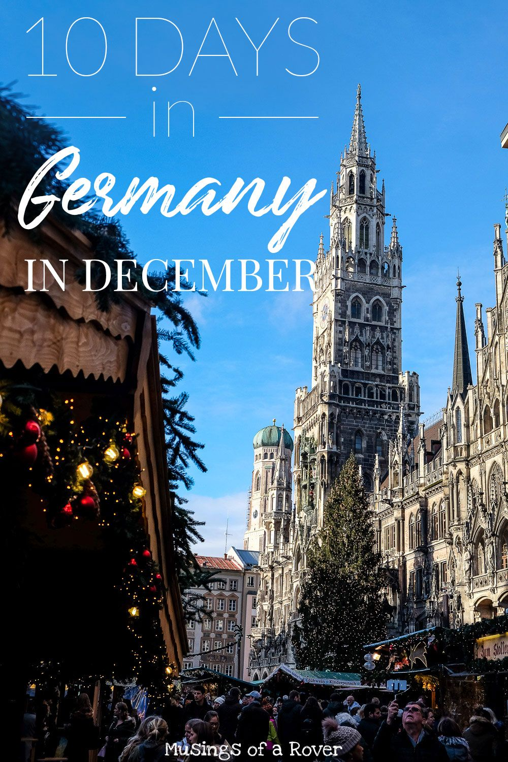 Heading to Germany in December? This 10 Day Itinerary is all about the Christmas Markets and what you can do in December. Loaded with the best things to do (including christmas markets, historical sites, viewpoints) which cities and towns to hit, where to eat, and where to stay, you'll be able to plan your trip in no time. It also includes a packing list so you can know how much you need to bring. Get ready to experience Christmas in Germany!