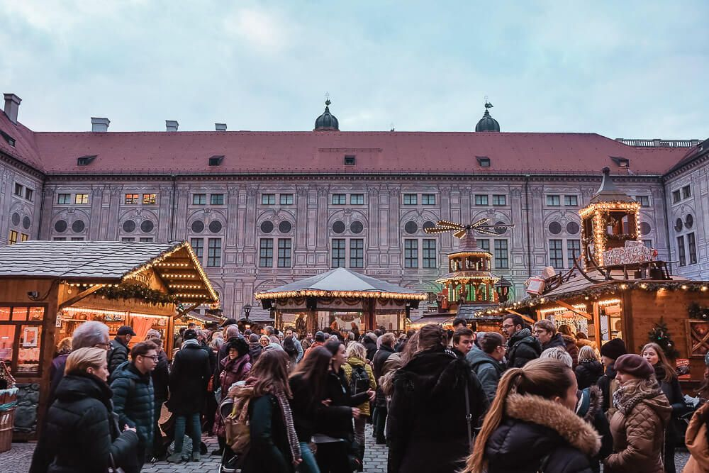 Christmas Market at the Residenz