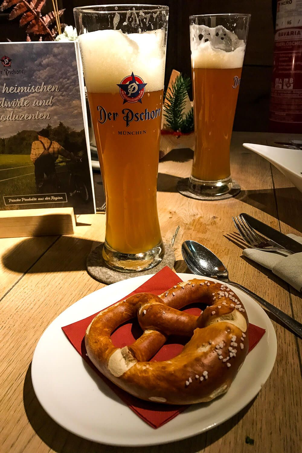 Pretzel in Munich