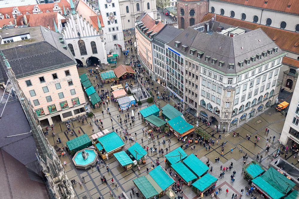 Chrismtas Market in Munich
