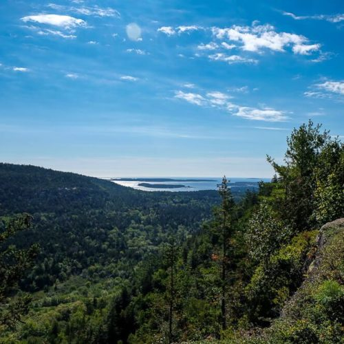 Hike the Beech Cliff Trail in Acadia National Park