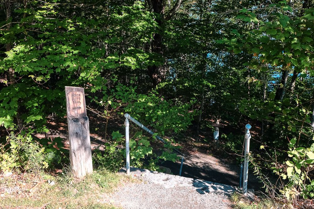 Beech cliff trailhead