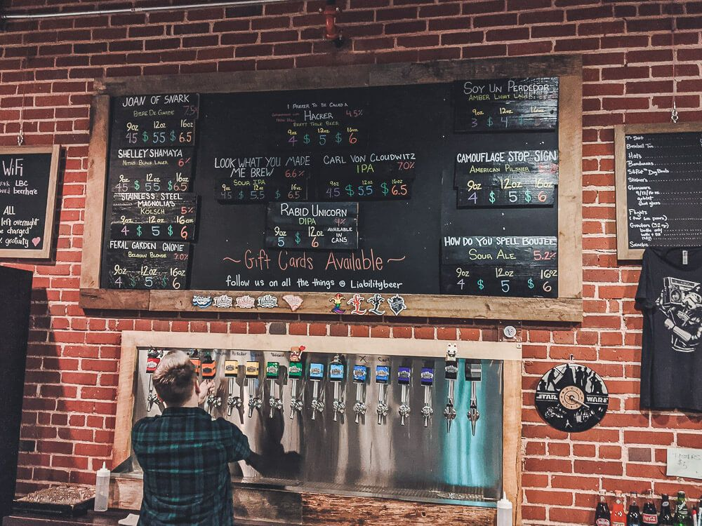 Liability Brewery in Greenville, SC