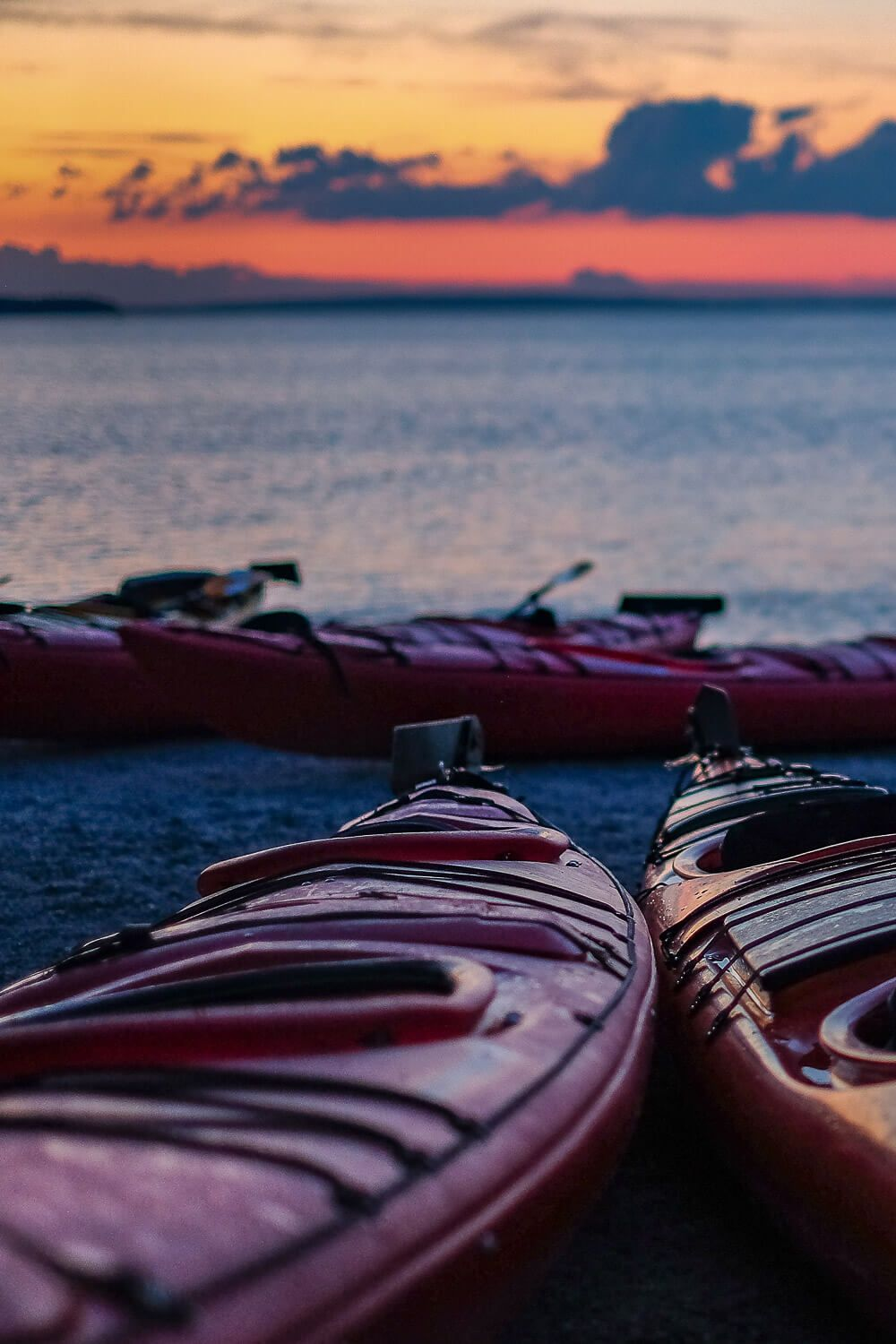 sea kayaking: One day in acadia national park