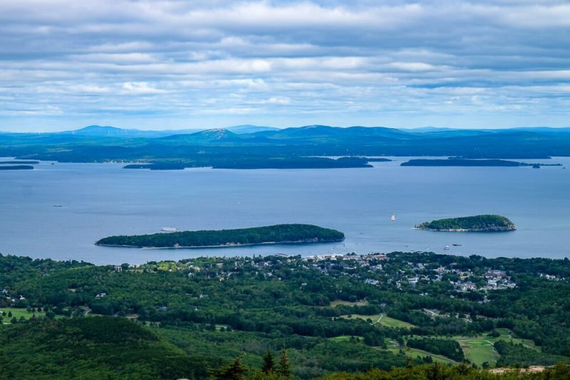 one day in acadia national park and bar harbor