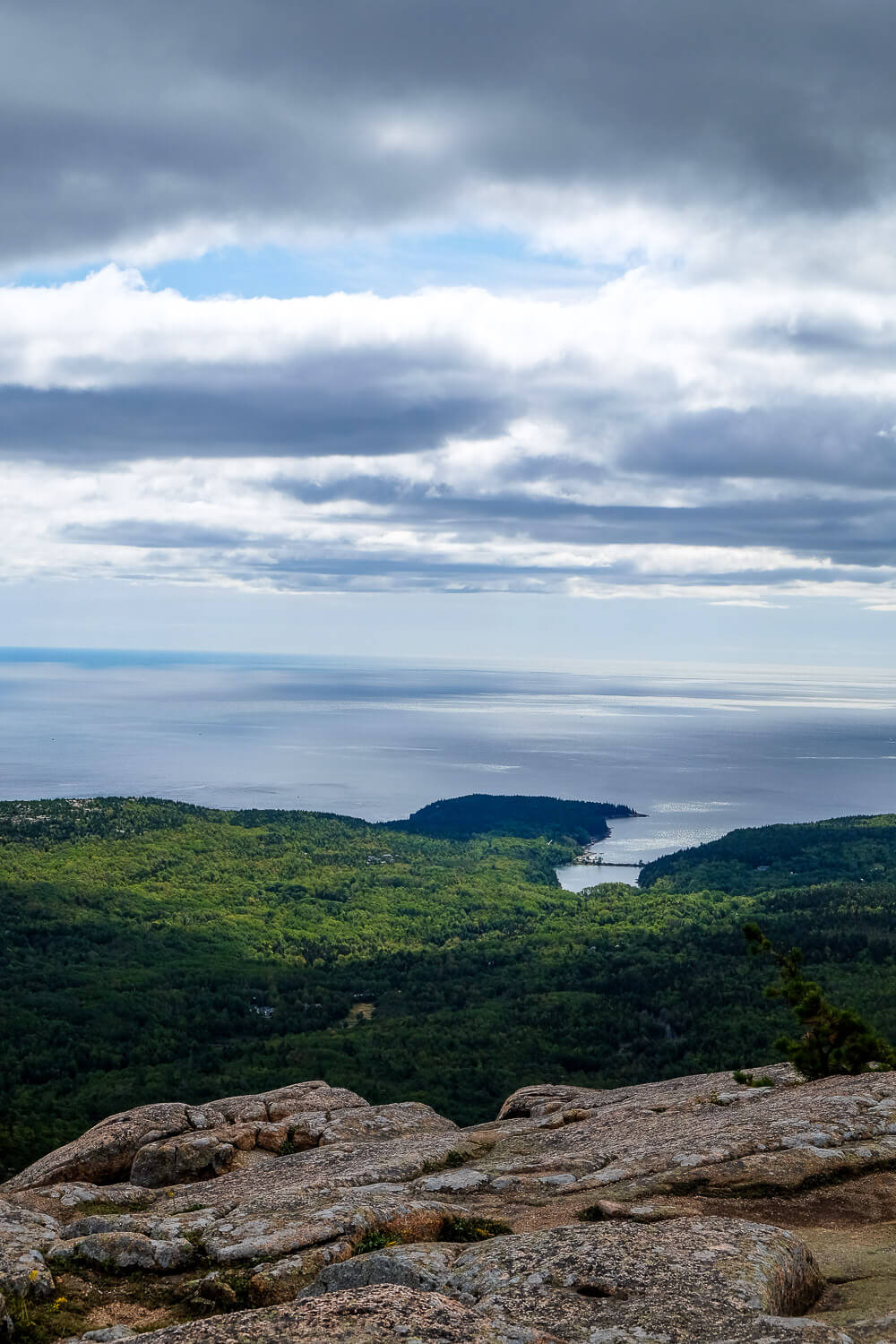 cadillac mountain: One day in acadia national park