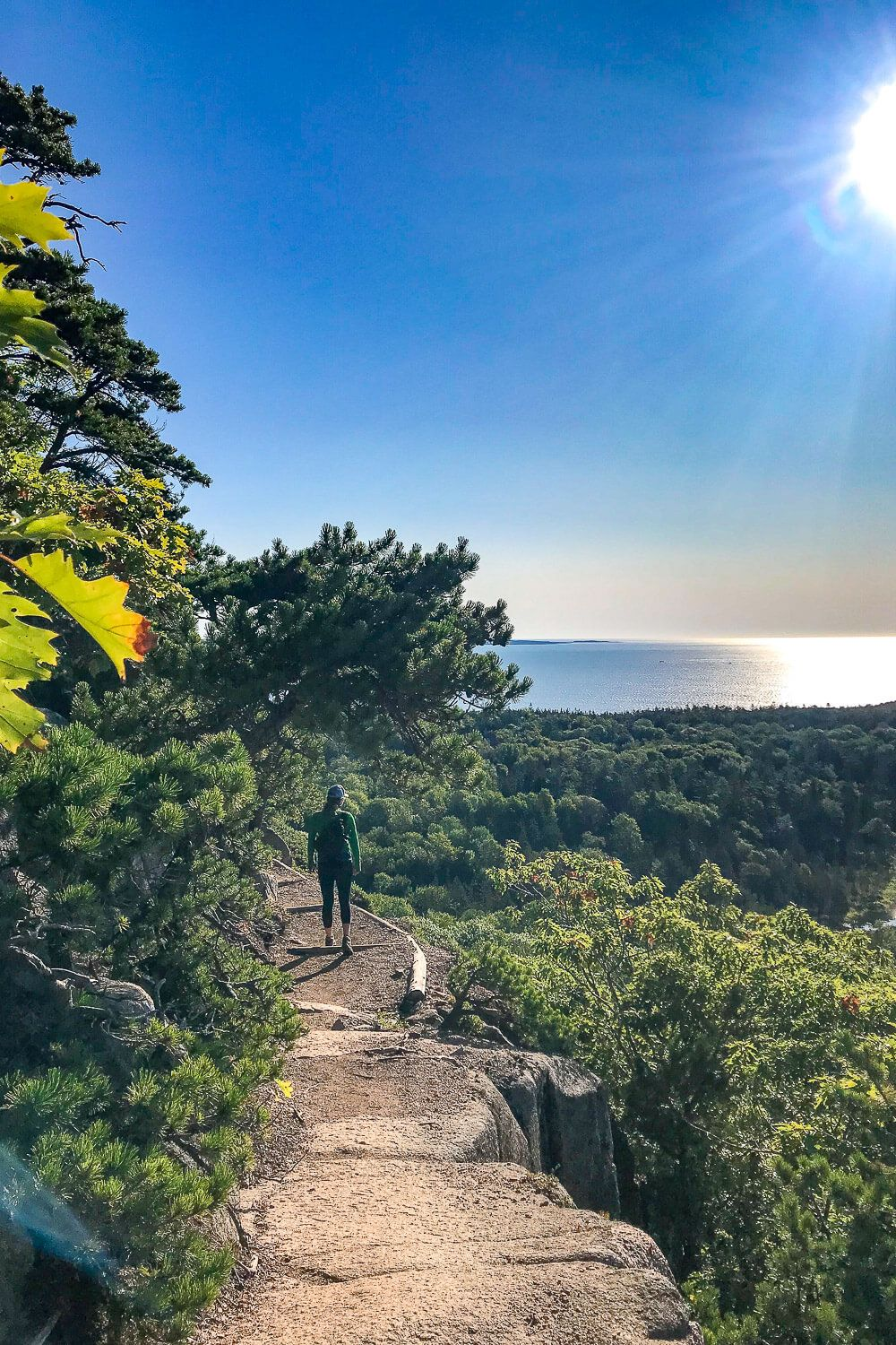 Beehive Trail: One day in acadia national park