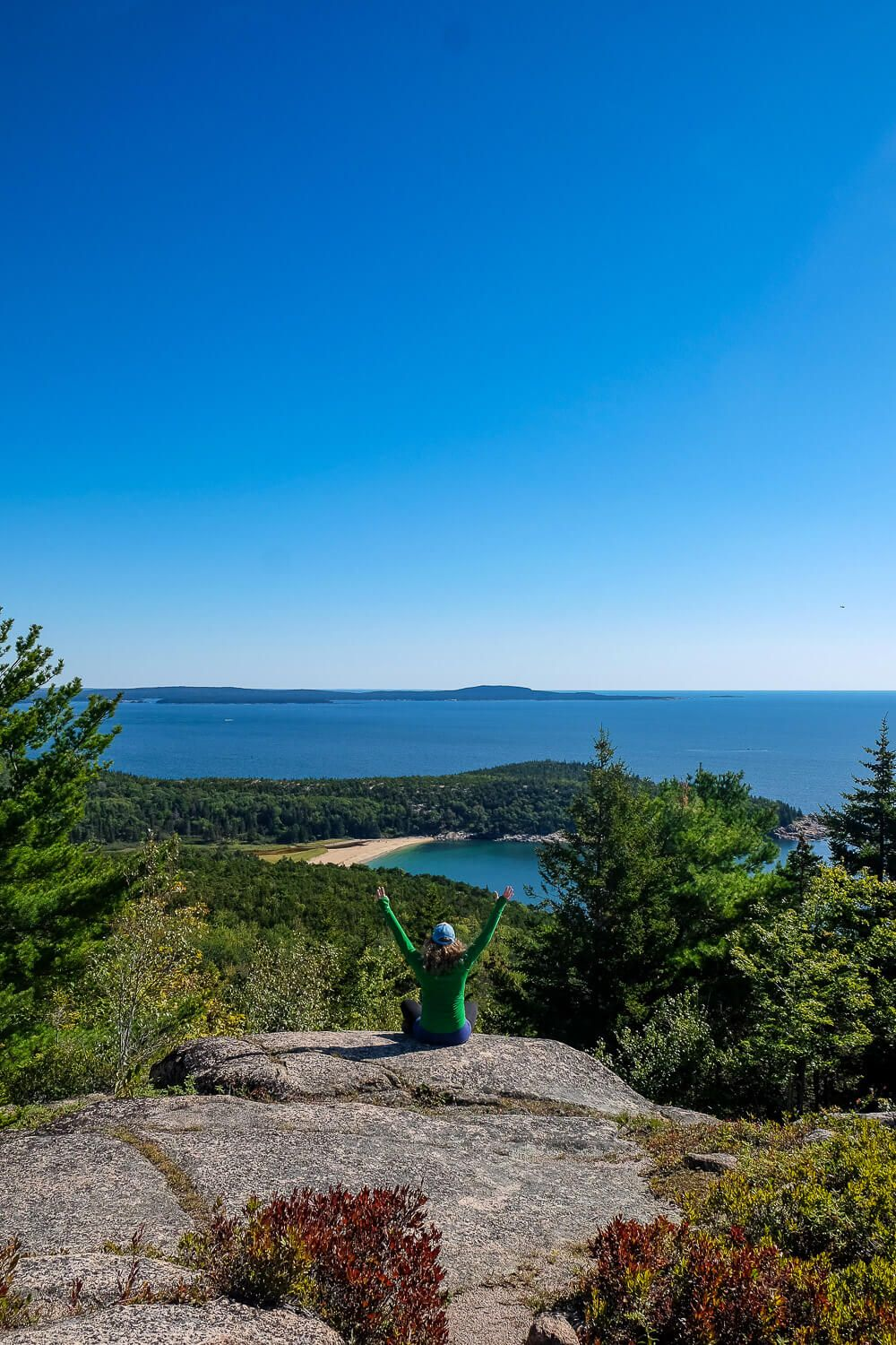 gorham mountain: One day in acadia national park
