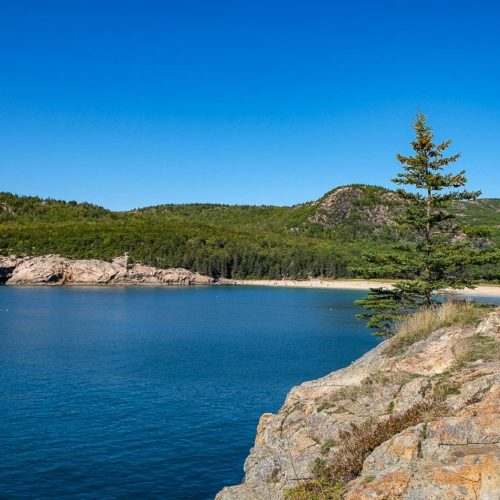 Hiking the Great Head Trail in Acadia National Park