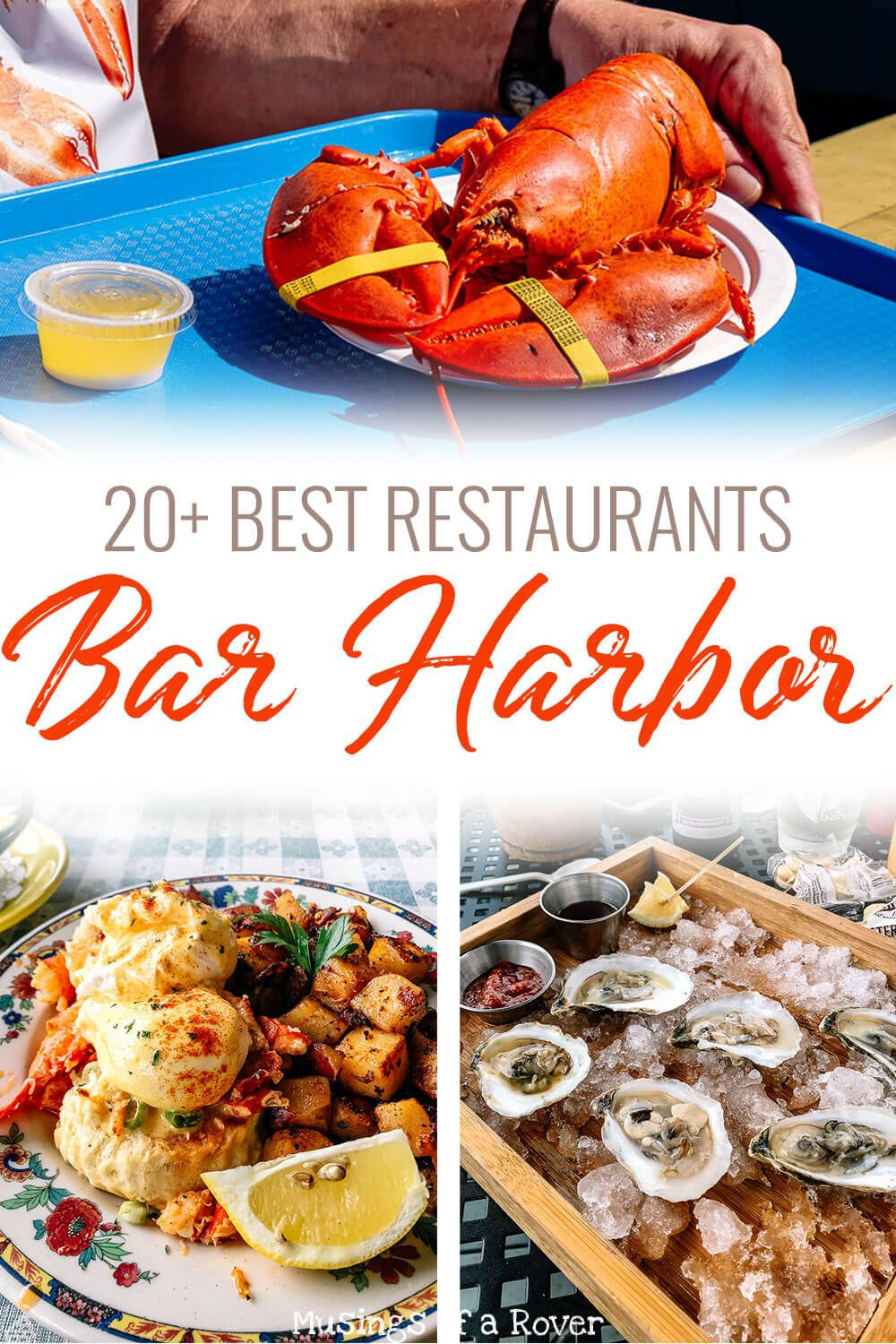 If you're trying to figure out where to eat in Bar Harbor, then you're in luck! This article contains 20+ of the best restaurants in Bar Harbor, on Mount Desert Island, and near Acadia National Park. Includes breakfast spots, lobster pounds, seafood restaurants, and a few dessert and ice cream shops. Add these to your Bar Harbor itinerary so you know the best places to eat!