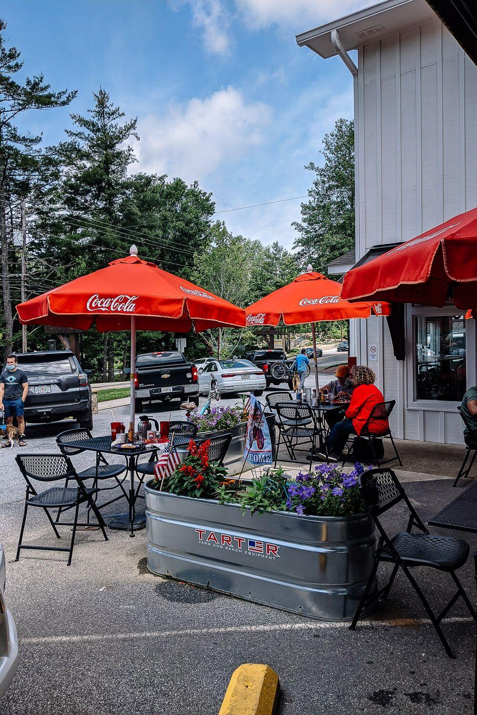 Blue Bike Cafe, Highlands NC