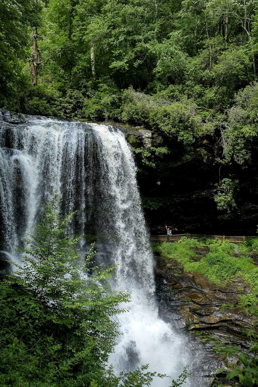 Dry Falls, Highlands NC