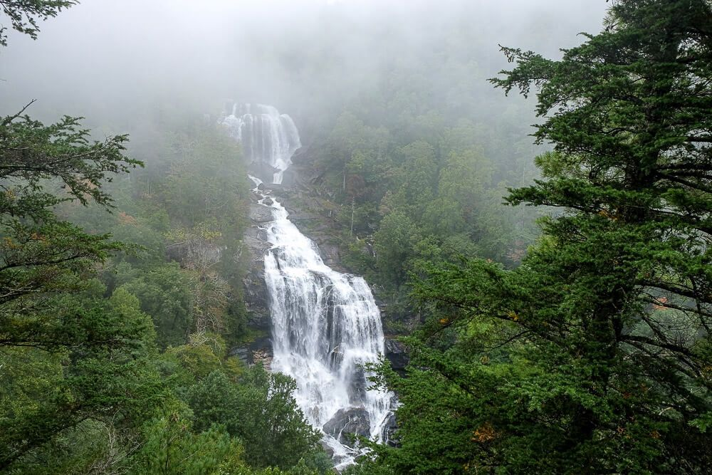 Upper whitewater falls