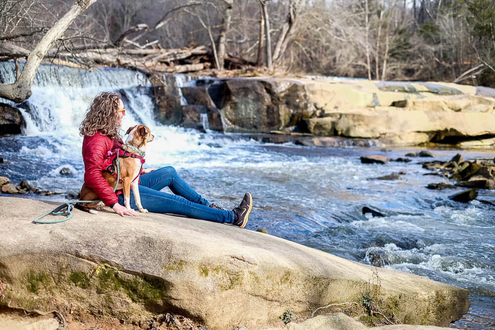 Cedar Falls Park Hiking in Greenville