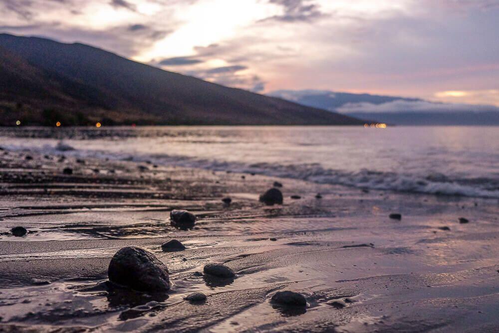 sunrise at camp olawalu