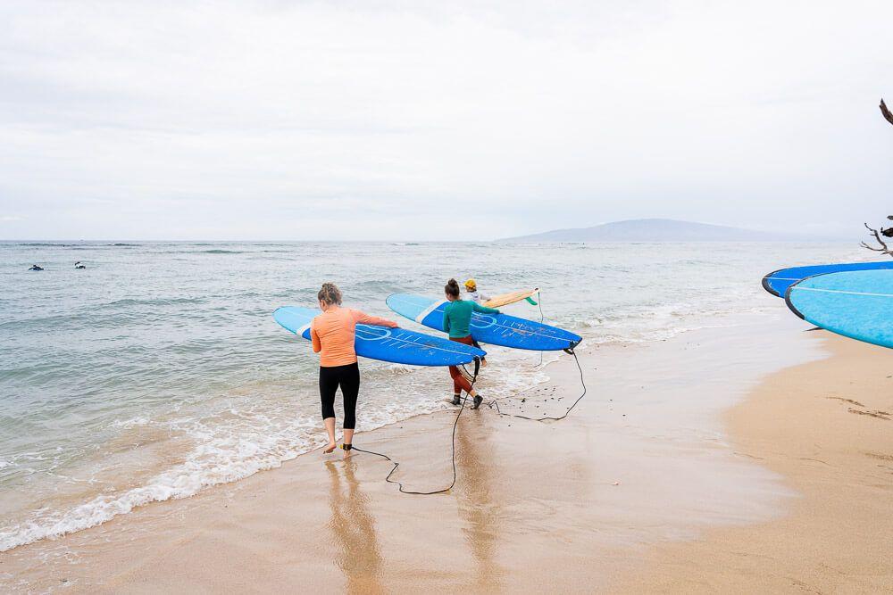 womens surf camp
