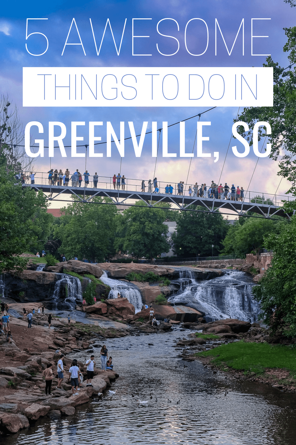 Are you visiting Greenville, SC? Discover the best things to do in Greenville, SC to make the most of your trip! Parks, waterfalls, rooftop bars, breweries, hikes, lakes & more!
