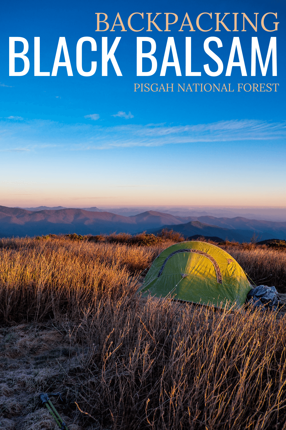 Backpacking at Black Balsam Knob is a popular outdoor activity. But there are lots of rules about camping in Pisgah National Forest. Find out where you can camp and what you can expect!