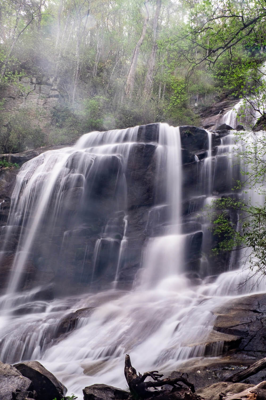 bottom tier of falls creek falls